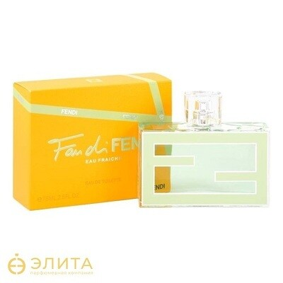 Fendi Fendi Fan di Fendi Eau Fraiche - 75 ml