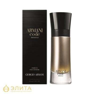 Giorgio Armani Code Absolu Pour Homme - 100 ml
