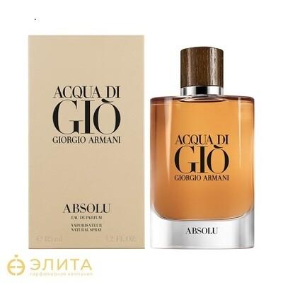 Giorgio Armani Acqua di Gio Absolu - 100 ml