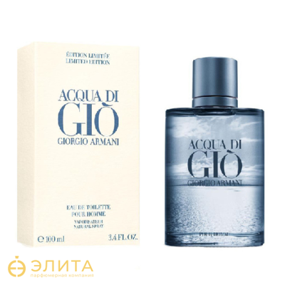 Giorgio Armani Aqua di Gio Blue Edition Pour Homme - 100 ml