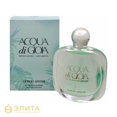 Giorgio Armani Acqua di Gioia Eau de Parfum Satinee - 80 ml