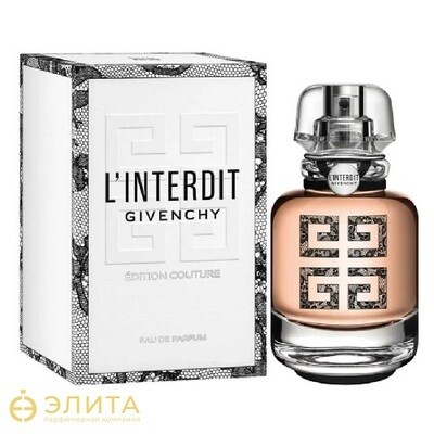 Givenchy L'interdit Edition Couture - 80 ml