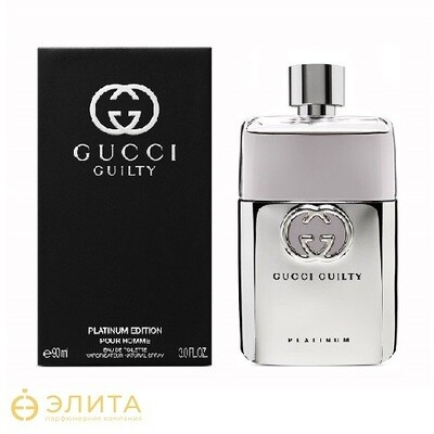 Gucci Guilty Platinum Homme - 90 ml