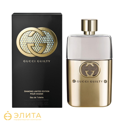 Guilty Diamond LE Pour Homme - 90 ml