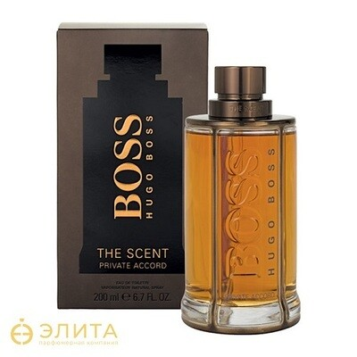 Hugo Boss The Scent Private Accord for Him - 100 ml