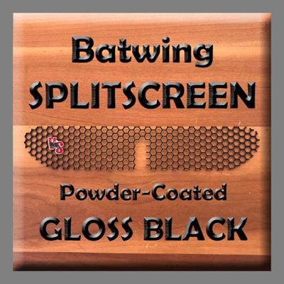 Batwing SPLITSCREEN - Gloss Black