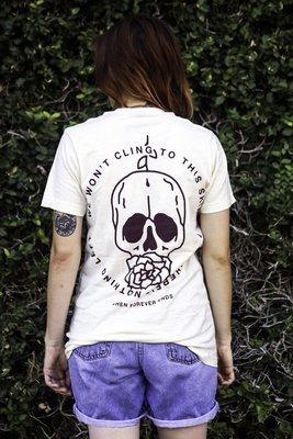 Skull & Camellia Tee