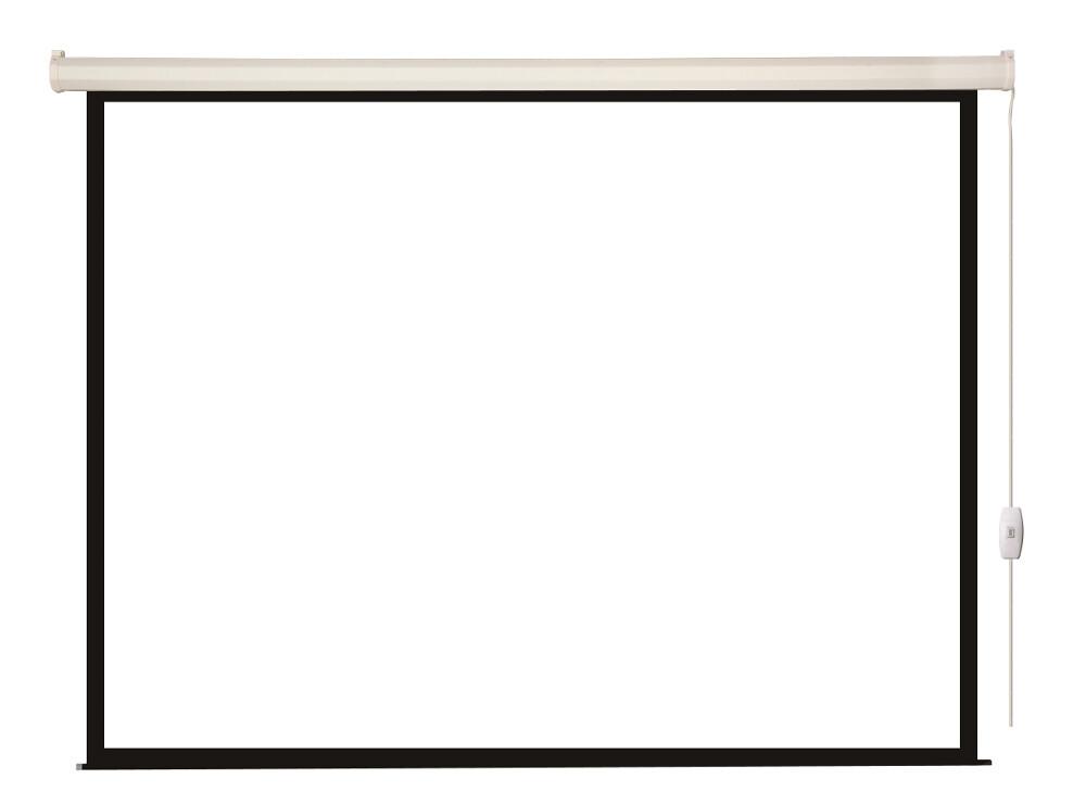 [LEC-100106] Экран с электроприводом Lumien Eco Control 153x203 см (раб. область 147х197 см) Matte White