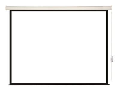 [LEC-100109] Экран с электроприводом Lumien Eco Control 142x200 см (раб. область 109х194 см) Matte White, верх.кайма 17 см,