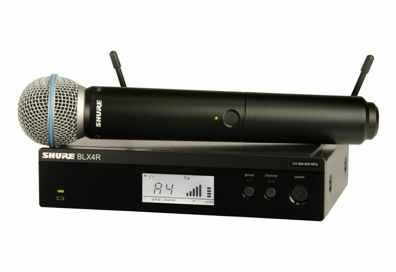 Радиосистемы SHURE BLX24RE/SM58 M17