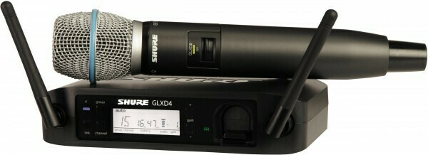 Радиосистемы SHURE GLXD24E/B87A Z2 2.4 GHz