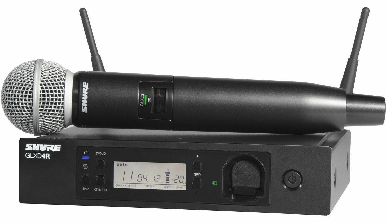 Радиосистемы SHURE GLXD24RE/SM58 Z2 2.4 GHz