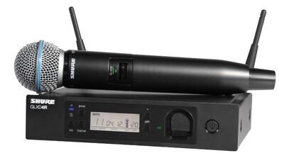 Радиосистемы SHURE GLXD24RE/B87A Z2 2.4 GHz