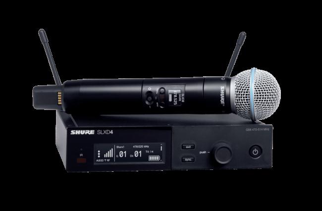 Радиосистемы SHURE SLXD24E/B58 H56