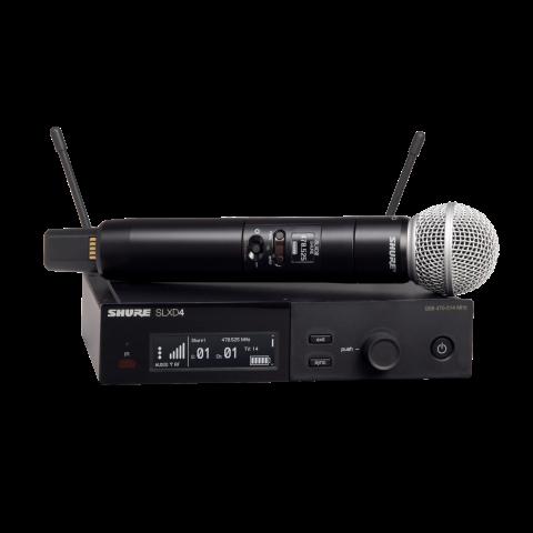 Радиосистемы SHURE SLXD24E/SM58 H56