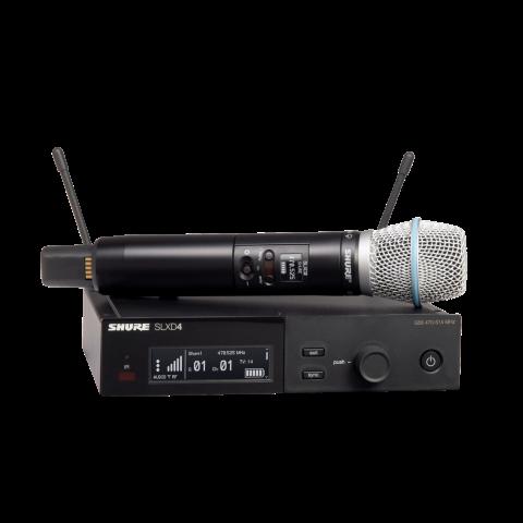 Радиосистемы SHURE SLXD24E/B87A H56