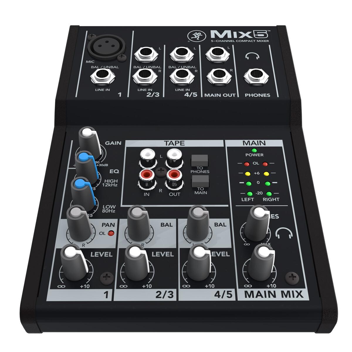 Микшерные пульты MACKIE Mix5