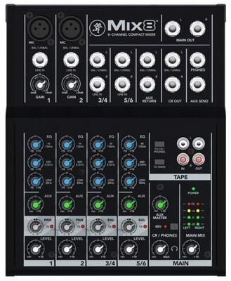 Микшерные пульты MACKIE Mix8
