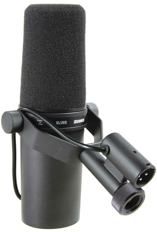 SHURE SM7B динамический студийный микрофон (телевидение и радиовещание)