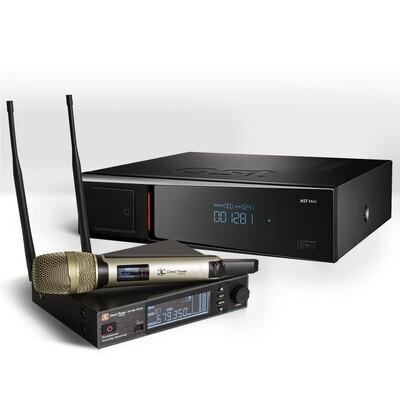 Профессиональная система караоке AST Mini  (AST-25B) + Микрофон в подарок