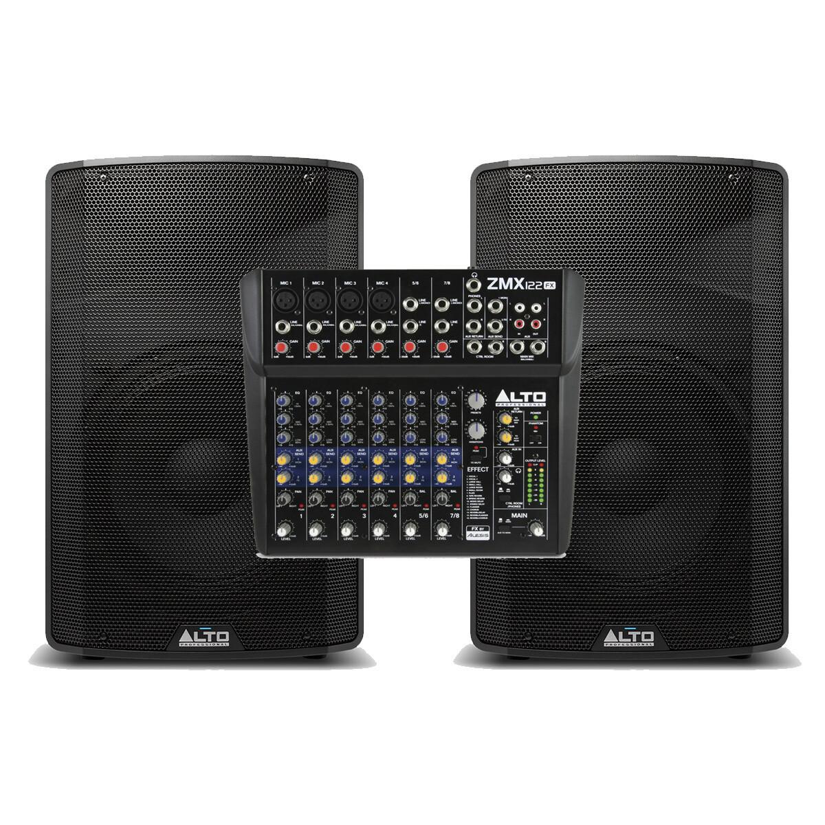 Акустический комплект ALTO TX312+ZMX112FX