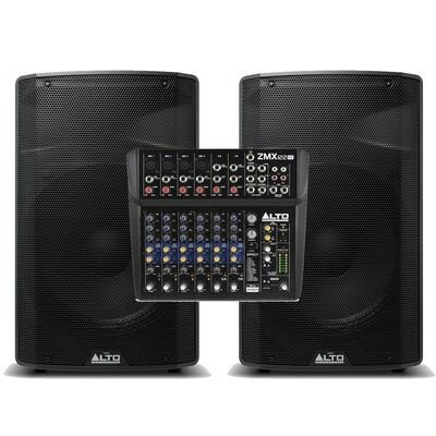 Акустический комплект ALTO TX315+ZMX112FX