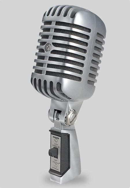 """Вокальный микрофон SHURE 55SH SERIESII """"Микрофон Элвиса"""""""
