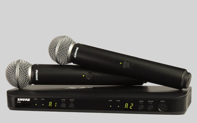 Вокальная радиосистема SHURE BLX288E/SM58 M17