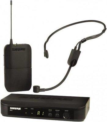 SHURE BLX14E/P31 M17 радиосистема головная с гарнитурой PGA31