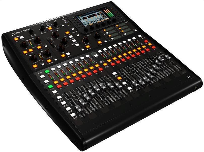 BEHRINGER X32 PRODUCER цифровой микшерный пульт 16 каналов