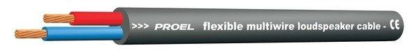 PROEL HPC620BK Колоночный кабель, 2X2,5 мм2