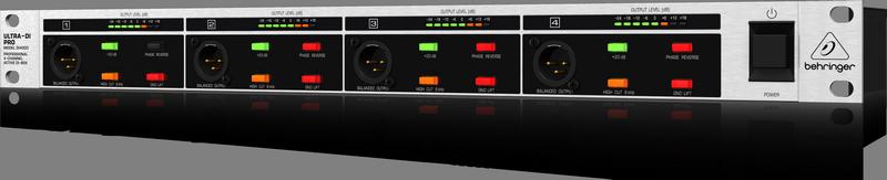 Behringer DI4000 4-канальный активный DI-box