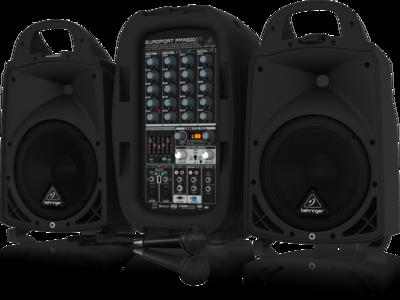 Behringer PPA500BT портативная система звукоусиления