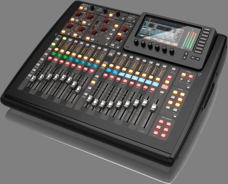 Behringer X32 COMPACT цифровой микшер, 32-канала
