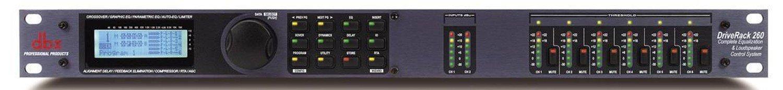 DBX DRIVERACK 260 системмный контроллер 2 входа/ 6 выходов