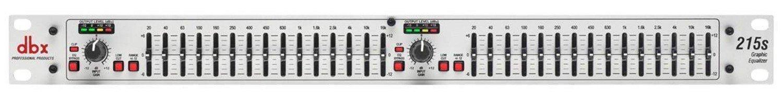 DBX 215SV 2-канальный 2/3 октавный графический эквалайзер