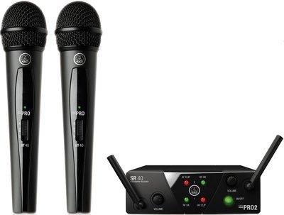AKG WMS40 MINI2 VOCAL SET BD US25A/C