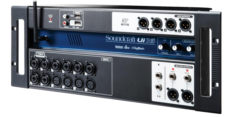 Soundcraft Ui16 Цифровой микшерный пульт