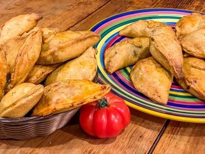 100 Stück Empanadas gemischt