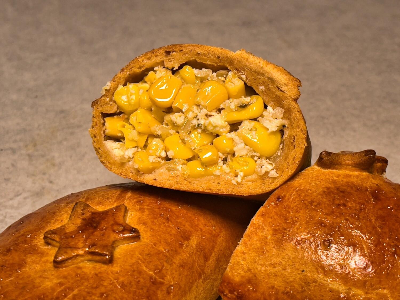 5 Stück Empanadas mit Mais-Käse-Fülle - VEGETARISCH