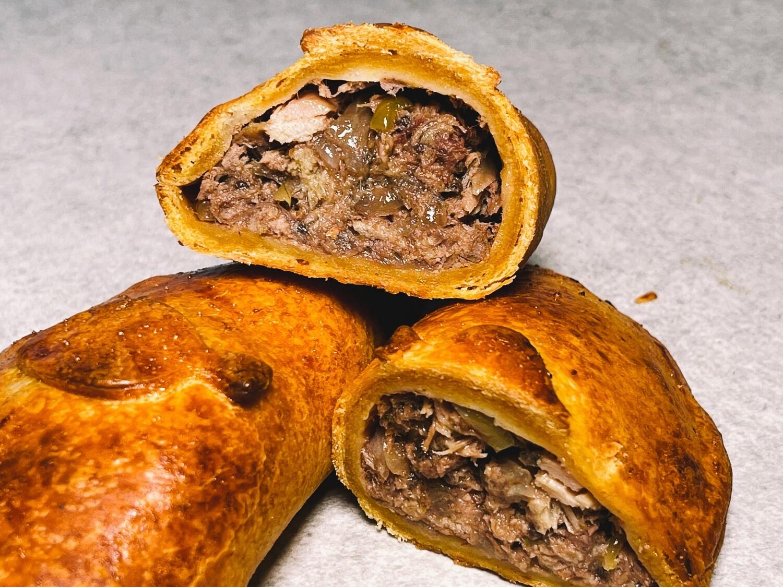 5 Stück Empanadas mit Schweinefleisch-Fülle