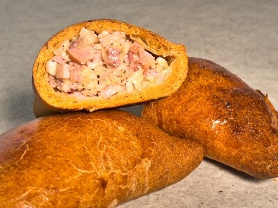 5 Stück Empanadas mit Schinken-Käse-Fülle
