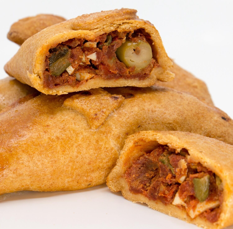 5 Stück Empanadas mit Gemüse-Fülle - VEGAN