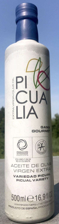 Picualia Olivenöl GOURMET, Flasche 500 ml