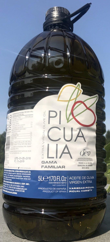 Picualia Olivenöl FAMILIAR, Kanister 5 Liter