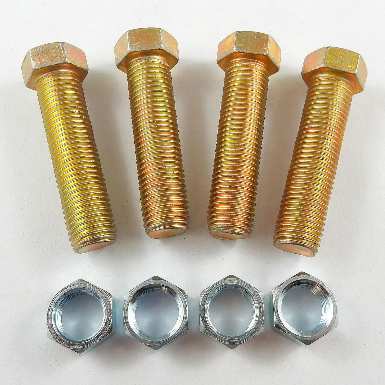 Torsion Bar Stop Adjusting Bolt Kit - Steel
