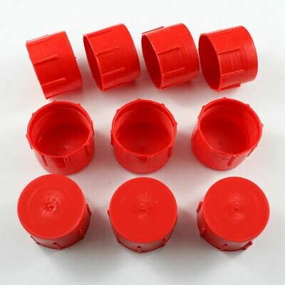 -12 AN Plastic Cap Kit - 10 Pack