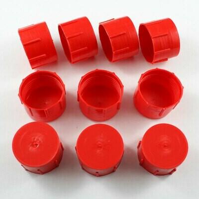 -12 AN Plastic Cap Kit - 10 Pack