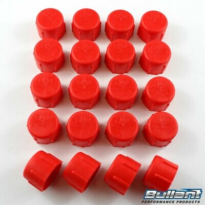 -8 AN Plastic Cap Kit - 20 Pack