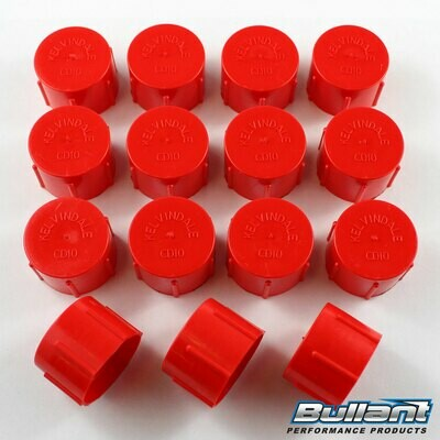-10 AN Plastic Cap Kit - 15 Pack